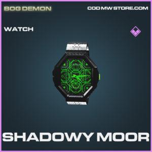 Shadowy MOor watch epic call of duty modern warfare warzone item