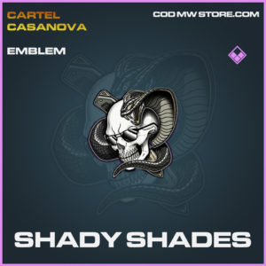 Shady Shades emblem epic call of duty modern warfare warzone item