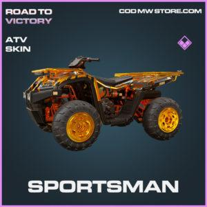 Sportsman ATV skin epic call of duty modern warfare warzone item