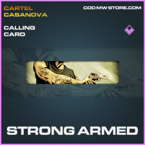 Strong ARmed calling card epic call of duty modern warfare warzone item