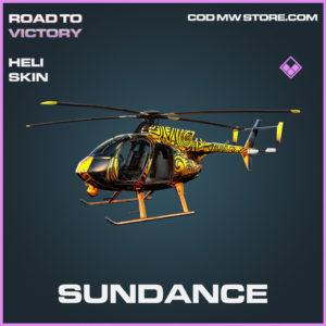 Sundance Heli skin epic call of duty modern warfare warzone item