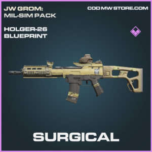 Surgical Holger-26 skin epic blueprint call of duty modern warfare warzone item