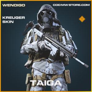 Taiga Kreuger skin legendary call of duty modern warfare warzone item