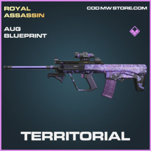 Territorial AUG skin epic blueprint call of duty modern warfare warzone item
