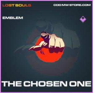 The CHosen one emblem epic call of duty modern warfare warzone item