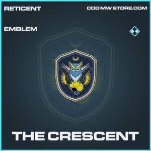 The Crescent emblem rare call of duty modern warfare warzone item