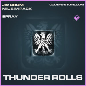 Thunder Rolls spray epic call of duty modern warfare warzone item