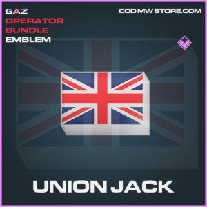 Union Jack emblem epic call of duty modern warfare warzone item