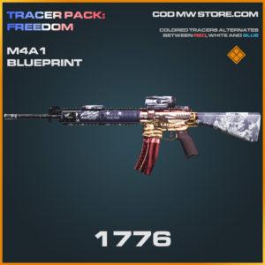 1776 M4A1 skin legendary blueprint call of duty modern warfare warzone item