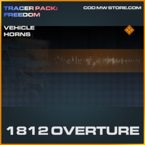 1812 Overture Vehicle horns legendary call of duty modern warfare warzone item