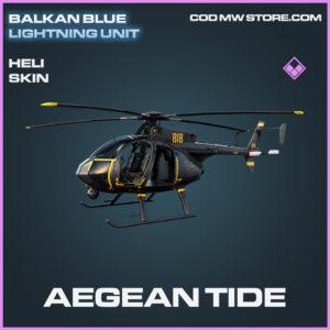 Aegean Tide Heli skin epic call of duty modern warfare warzone item