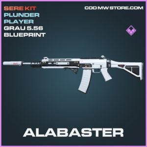 Alabaster Grau 5.56 skin epic blueprint call of duty modern warfare warzone item