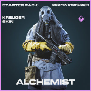 Alchemist Kreuger skin epic call of duty modern warfare warzone item