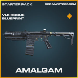 Amalgam VLK Rogue skin legendary blueprint call of duty modern warfare warzone item