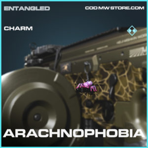 Arachnophobia charm rare call of duty modern warfare warzone item