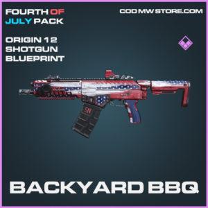 Backyard BBQ Origin 12 shotgun skin epic blueprint call of duty modern warfare warzone item