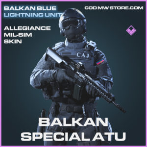 Blakan Special ATU Allegiance Mil-Sim skin epic call of duty modern warfare warzone item