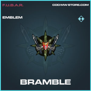 Bramble emblem rare call of duty modern warfare warzone item