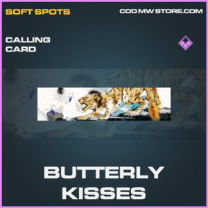 Butterfly Kisses calling card epic call of duty modern warfare warzone item