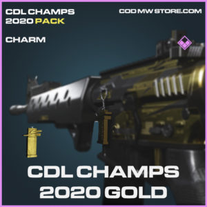 CDL Champs 2020 Gold charm epic call of duty modern warfare waronze item