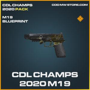 CDL Champs 2020 M19 skin legendary blueprint call of duty modern warfare warzone item