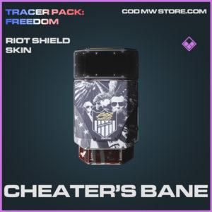 Cheater's Bane Riot Shield skin epic call of duty modern warfare warzone item