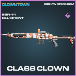 Class Clown EBR-14 skin epic blueprint call of duty modern warfare warzone item