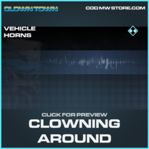 Clowning Around rare vehicle horns call of duty modern warfare warzone item