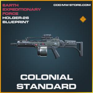Colonial Standard Holger-26 skin legendary blueprint call of duty modern warfare warzone item