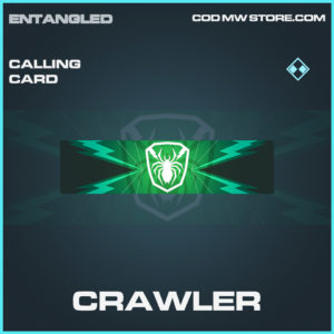Crawler calling card rare call of duty modern warfare warzone item