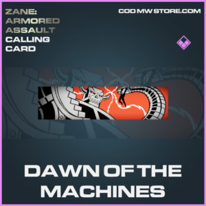 Dawn of the Machines calling card epic call of duty modern warfare warzone item
