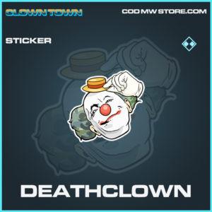Deathclown Sticker rare call of duty modern warfare warzone item