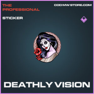 Deathly Vision sticker epic call of duty modern warfare warzone item