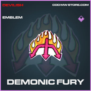 Demonic Fury emblem epic call of duty modern warfare warzone item