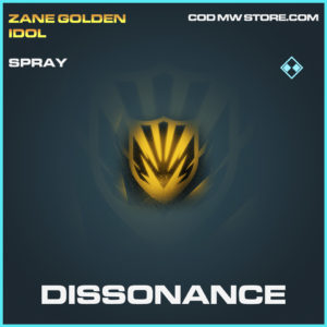 Dissonance spray rare call of duty modern warfare warzone item