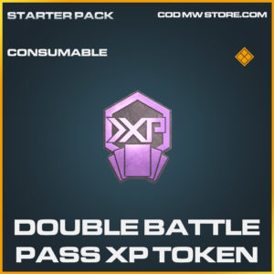 Double Battle Pass XP Token call of duty modern warfare warzone item