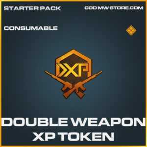 Double Weapon XP Token call of duty modern warfare warzone item