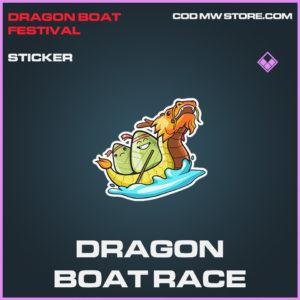 Dragon Boat Race sticker epic call of duty modern warfare warzone item