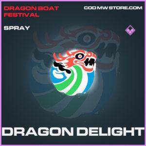 Dragon Delight spray epic call of duty modern warfare warzone item