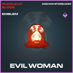 Evil Woman emblem epic call of duty modern warfare warzone item