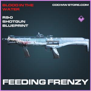 Feeding Frenzy R9-0 Shotgun skin epic blueprint call of duty modern warfare warzone item
