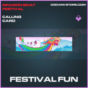 Festival Fun epic calling card epic call of duty modern warfare warzone item