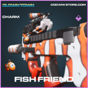 Fish Friend charm epic call of duty modern warfare warzone item