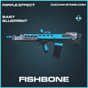 Fishbone SA87 skin rare blueprint call of duty modern warfare warzone item