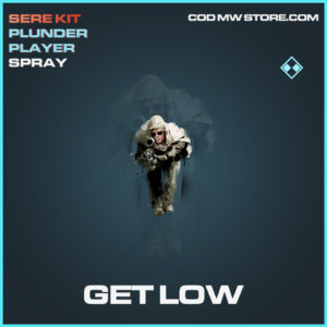 Get Low spray rare call of duty modern warfare warzone item