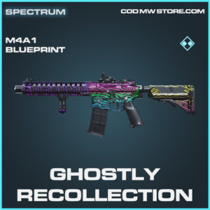 Ghostly Recollection M4A1 skin rare blueprint call of duty modern warfare warzone item