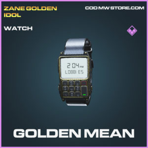 GOlden Mean watch epic call of duty modern warfare warzone item