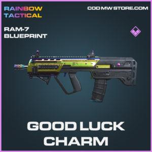Good Luck charm RAM-7 skin epic blueprint call of duty modern warfare warzone item