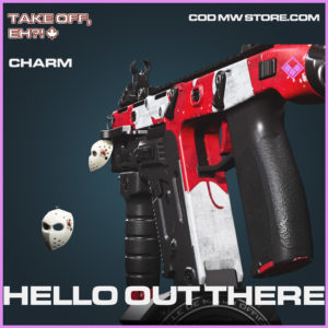 Hello Out There charm epic call of duty modern warfare warzone item