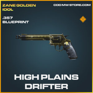 High Plains Drifter .357 skin legendary blueprint call of duty modern warfare warzone item